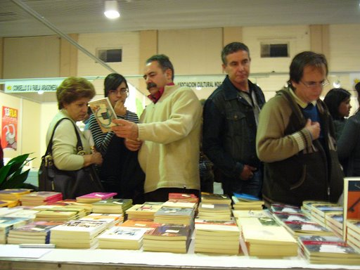 EN LA FERIA DEL LIBRO ARAGONÉS DE MONZÓN